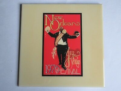 Festival TILE ~ New Orleans Jazz & Heritage Fest Art4Now 1976 ~ Maria Laredo Art