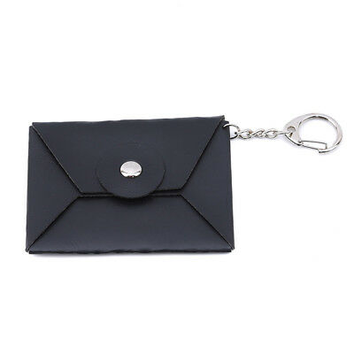 Artificial Leather Storage Bag Case For Earbud Headset Earphone Headphones D