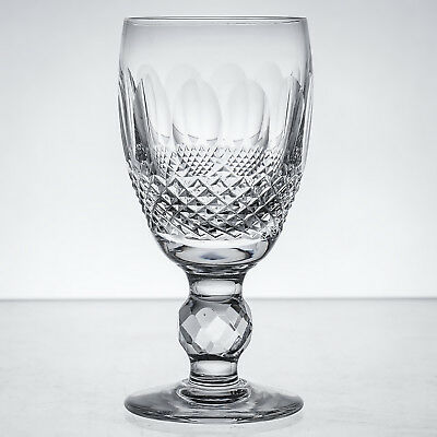 """Waterford Crystal Colleen Gothic Mark Vintage Sherry Glass H 4.25"""" 3+ oz more"""