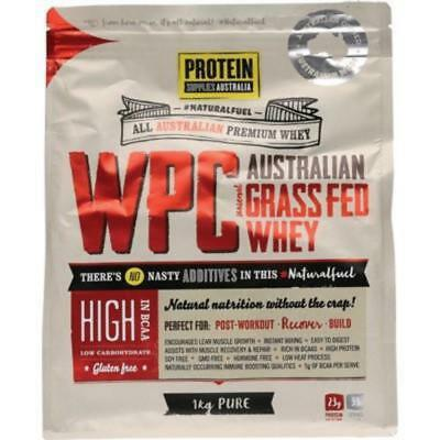 Protein Supplies Whey Protein Concentrate Pure WPC 1kg
