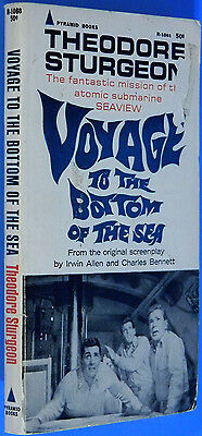 Voyage To The Bottom of The Sea by Theodore Sturgeon, PB,1967 SciFi TV Show