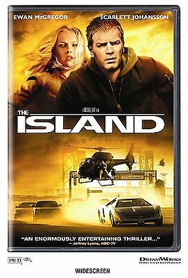 The Island (DVD, 2005, Widescreen) Very Minor Scratching!