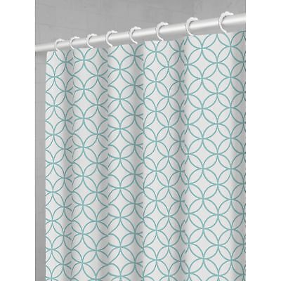 Maytex Trellis Fabric Shower Curtain With Attached Hooks