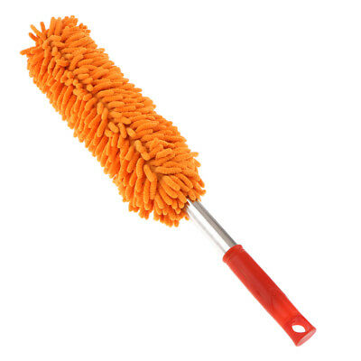 Microfiber Dust Shan Head Replacement Duster Household Dusting Brush Orange