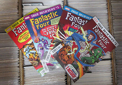 True Believers Fantastic Four Marvel first Frightful Four Klaw Ronan Blastaar
