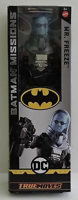 BATMAN KNIGHT MISSIONS MR FREEZE 12 inch action figure MATTEL TRUE MOVES  NEW!