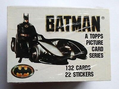 Trading Cards--Batman Series 1 Base Set (No Stickers)(1989) Topps