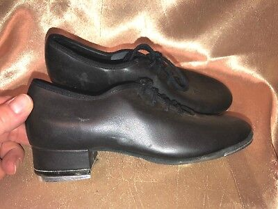 Theatricals Girls Black Tap shoes Size 1.5
