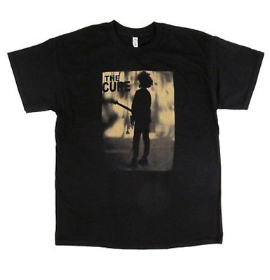 Brand New The Cure Boys Don't Cry Black Short Sleeve T Shirt Rock Band Tee S-2xl