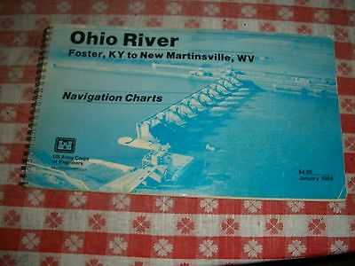 1984 Ohio River Navigation Charts Us Army Corps Of Engineers Ohio River