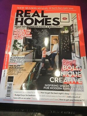 Real Homes magazine Issue 234 October 2018 Instagram Icons