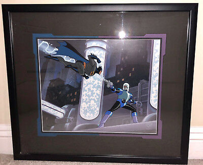 Batman Animated Seres - Limited Edition Cel - Heart Of Ice - Mr Freeze - Rare