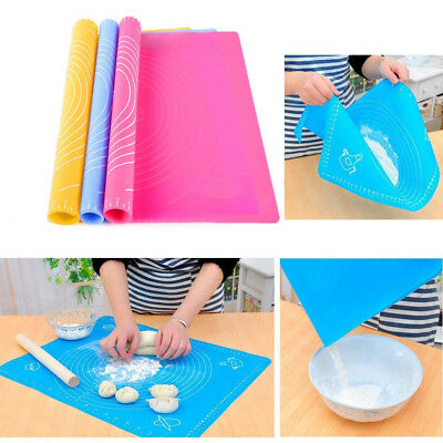 Cake Kneading Dough Silicone Rolling Dough Pad Pastry Non Stick Baking Mat
