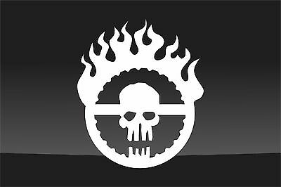 "Smaller Mad Max Fury Road Mutant Vinyl Decal Sticker-3.25""x4"""