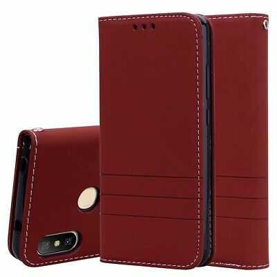 For Xiaomi Redmi 6A 6 Pro 6 S2 5A 5 4A Note 4X Flip Wallet PU Leather Phone Case