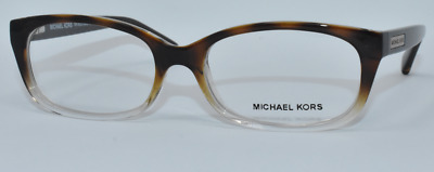 7dd29b5006 New Authentic Michael Kors Eyeglasses Mk8020 3125 Mitzi V Brown Gradient 53 -16