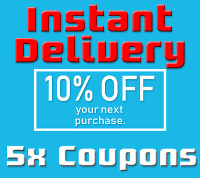 FIVE (5ⅹ) 10% OFF LOWES PRINTABLE 1Coupons - Lowes In store/online FAST Delivery
