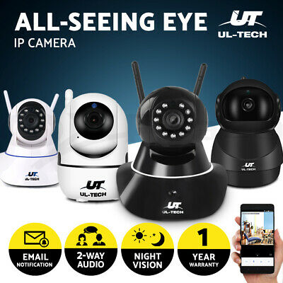 UL-TECH Wireless IP Camera Set Security CCTV System Home 1080P SPY Outdoor WIFI
