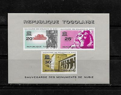 TOGO SC #478a ISIS OF KALABSHA MNH-MINT SOUVENIR SHEET SINGLE STAMP
