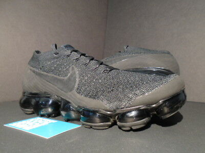 2017 Nike Air Vapormax Flyknit Black Anthracite Grey Off White 849558-011 9