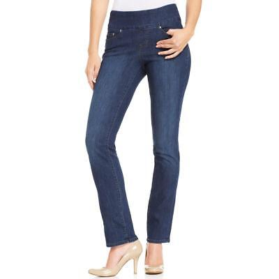 Jag Jeans Womens Peri Anchor Wash Embroidered Pull On Jeggings BHFO 4074