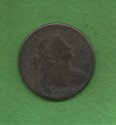 1798 Draped Bust Large Cent - 221 Years Old!!