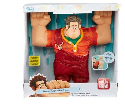 NEW Disney Wreck It Ralph Breaks the Internet Large Talking Action Figure 15""