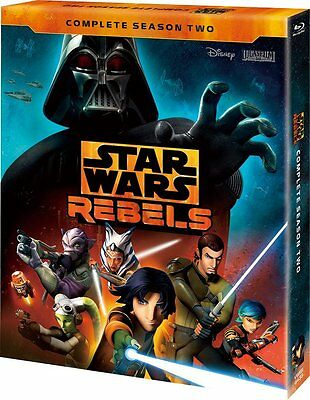 Star Wars Rebels: Stagione 2 Completo Set-Japan 3 Blu-Ray AM38 Sd