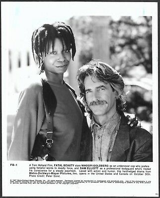 ~ Sam Elliott Whoopi Goldberg Carol Kane LOT 6 Original 1980s Promo Photos
