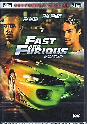 [DVD]  FAST AND FURIOUS - Vin DIESEL / Paul WALKER - DTS - Neuf sous blister