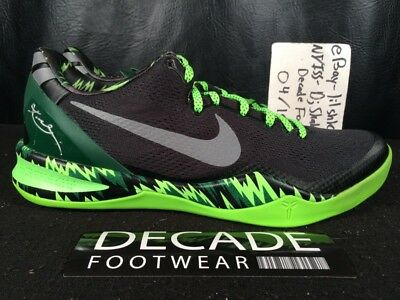 lower price with reasonable price detailing NIKE ZOOM KOBE 8 System Pp Philippine Gorge Green Black 10 ...