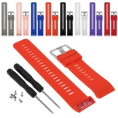For Garmin Forerunner 35 Watch Silicone Replacement Wrist Band Strap With Tool