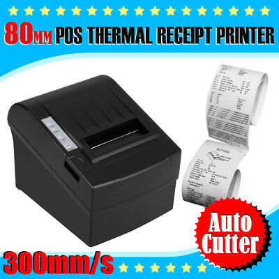 80mm POS Thermal Dot Receipt Printer Bondrucker 300mm/s with AUTO-CUT Function