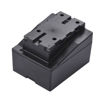 8pcs AA Battery Pack Case Holder Replace F950/F750/F550 NP-F Series for LED R5Q9