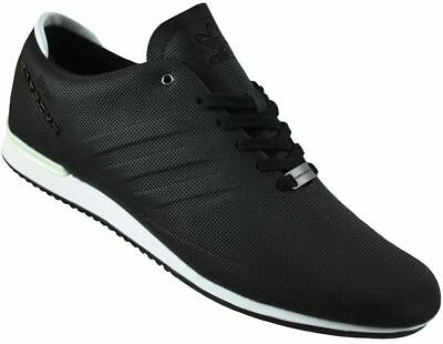 58831e9912c7 Adidas Porsche Type 64 Sport Trainers Originals Trefoil Mens Sneaker Black  White