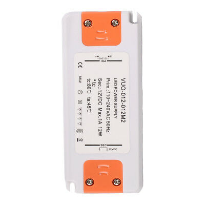 Waterproof Constant Voltage Power Supply LED Driver Transformer 12W 1A 12V