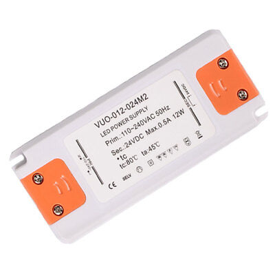 Waterproof Constant Voltage Power Supply LED Driver Transformer 12W 0.5A 24V