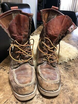 c544fbccfc3 VINTAGE RED WING Irish Setter 866 Crepe sole Boots...10 D - $56.00 ...