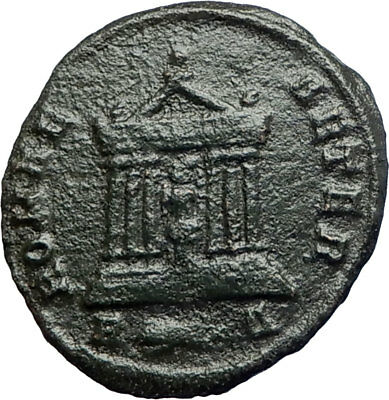 PROBUS  281AD Rome Authentic Ancient  Roman Coin Temple of Roma   i74247