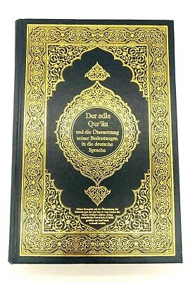 German Translation of The Holy Quran, Noble Koran with Arabic Text [ Germany ]