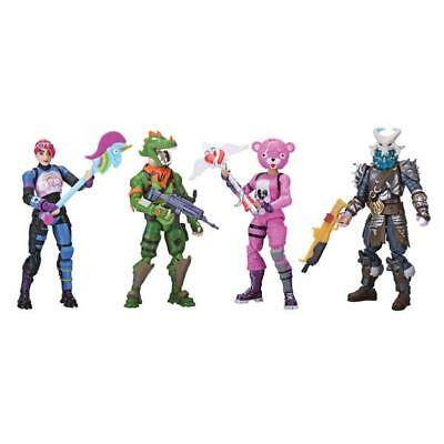 Fortnite Battle Royale Squad Mode 4 Collection Pack Chest Game Figure Toys Gift