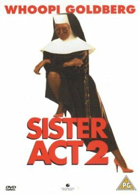 Sister Act 2 : Back in the Habit - Sealed NEW DVD - Whoopi Goldberg