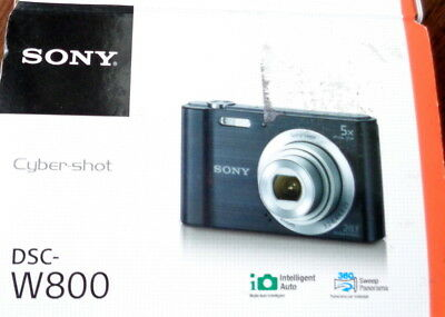 Sony - DSC-W800 20.1 mp Point and Shoot Digital Photo Camera / Bundle