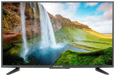 "Sceptre X328BV-SR 32"" 720p HD LED HDMI 60Hz TV With BUILT IN DVR"