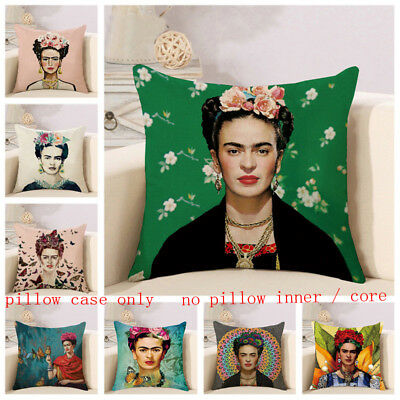 Cushions 4x Vintage Self Portrait Frida Kahlo Throw Pillow Case Sofa Car Cushion Cover Home Furniture Diy Coccinelli De