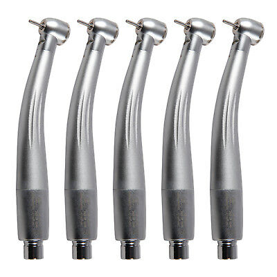 5 x NSK Style Dental Turbina LED E-generator Handpiece Big Head Torque