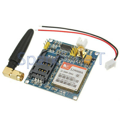 SIM900A 1800/1900 MHz Wireless Extension Module GSM GPRS Board+Antenna NEW