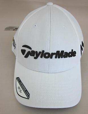 *NWT!* TaylorMade Golf Tour Radar M1 Adjustable Cap/Hat White Moisture Wicking