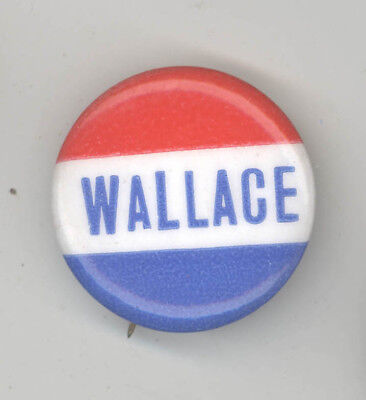 GEORGE WALLACE President POLITICAL Pin BUTTON Pinback BADGE Alabama Governor