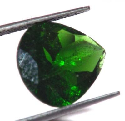 Rare 2.45 ct Natural Untreated Russian Chrome Diopside 10 x 9 mm Gem #bcd02